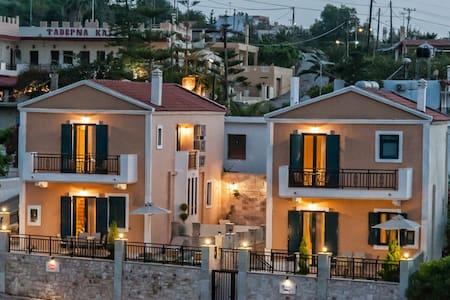 Villa Peonia-2 floor villa, a relaxing environm... - Rethymnon - Huvila