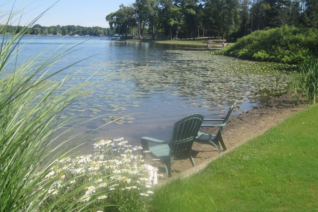 Relax by the lakeside