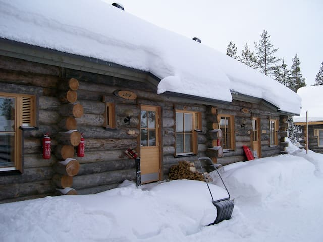 Äkäslomoplo - Fun With Santa Dasher Cabin
