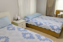 Room setting for spring season