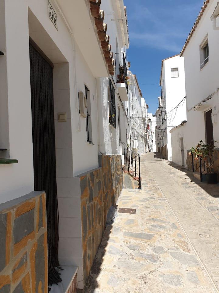 Maison dans village blanc d andalousie