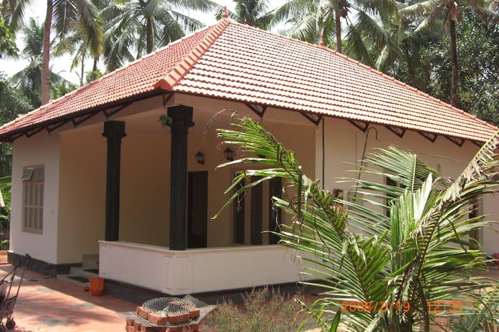 Villa in Varkala .Kerela . South India