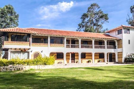cabaña alejandria - Villa De Leiva - Cabin