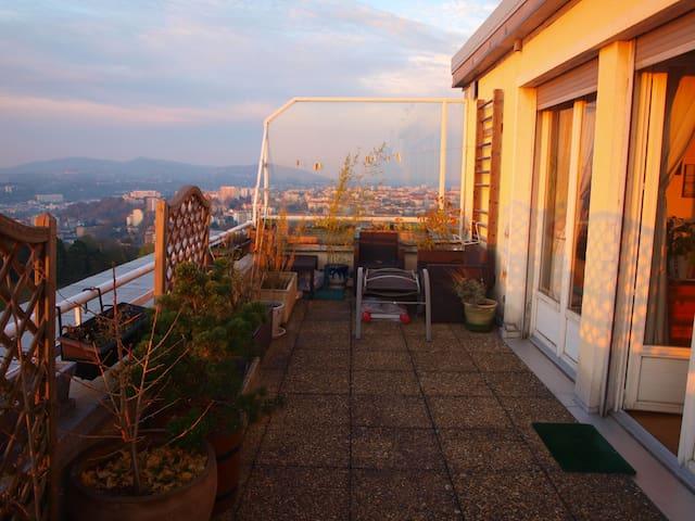 Terrace Heart Strirring View Fourvière/Vieux Lyon