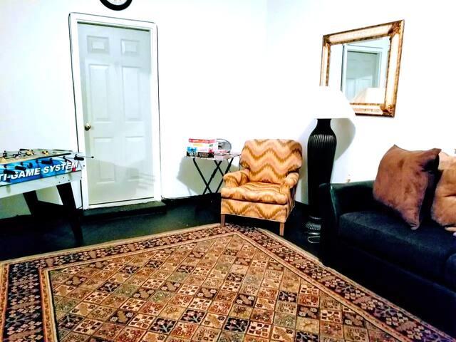 Living/entertaiment room
