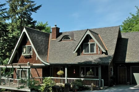 Master bedroom suite in Forest Park - Portland - Bed & Breakfast