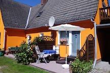 Sonnenblumenhaus mit Südterrasse