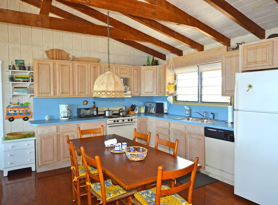 Kitchen & Dining Area.  The kitchen has all modern appliances