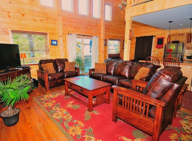 Beautiful Log House (Ninja) - Lake Placid - House