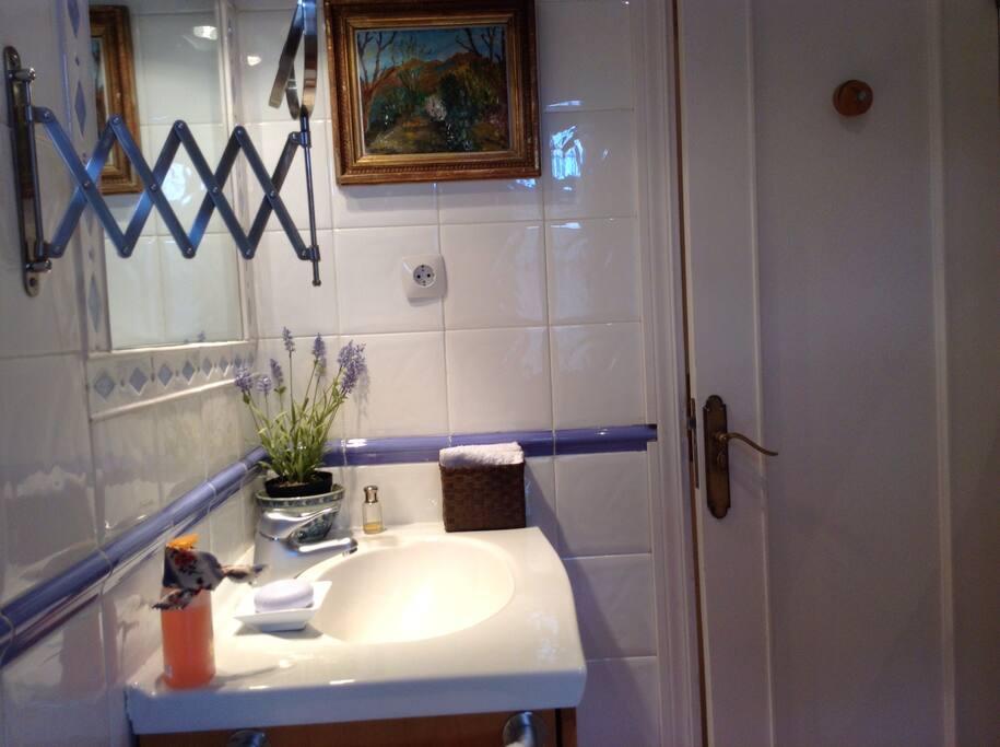 Baño pequeño apartamento