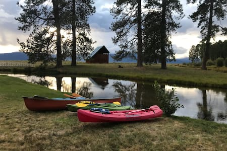 CraterLake Bungalows - The Cabin on Crooked Creek