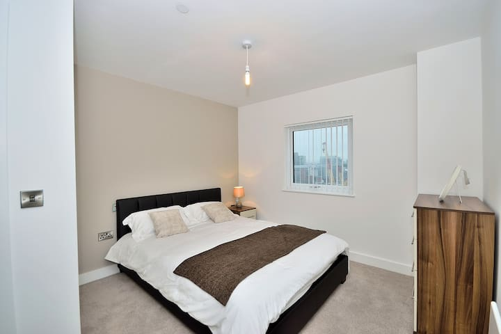 Modern one bed apt - Manchester - Salford - Apartment