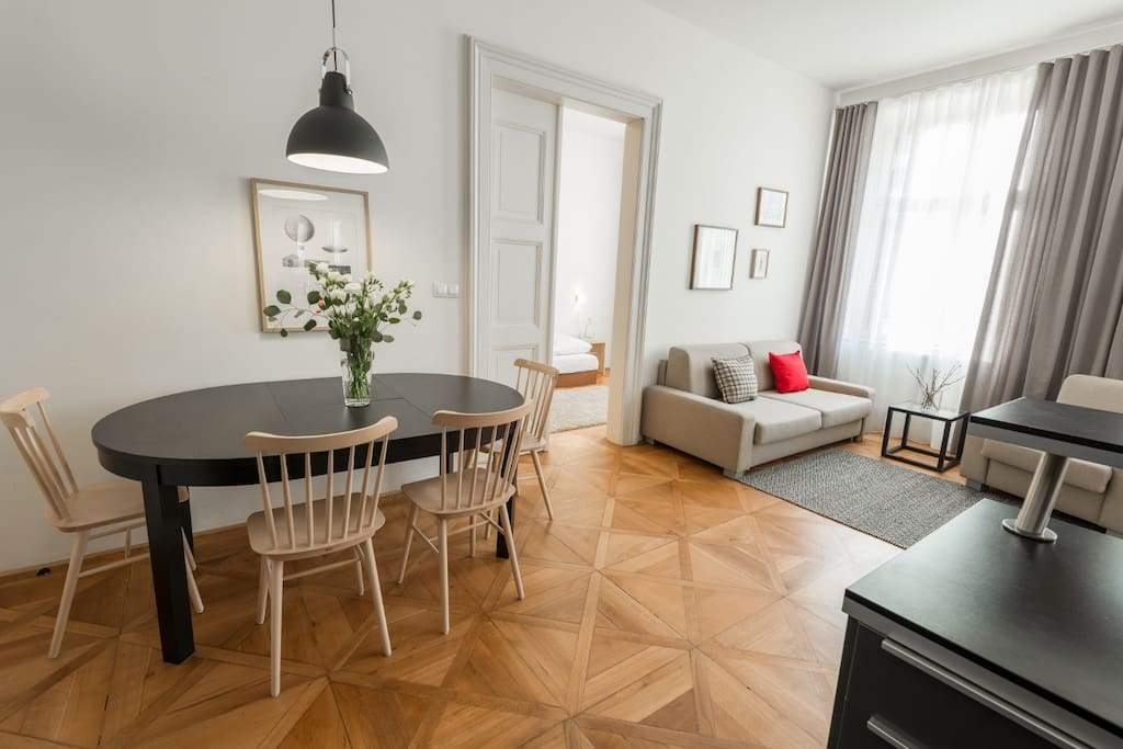 Vladislav Prague Apartment No.5 - Lounge