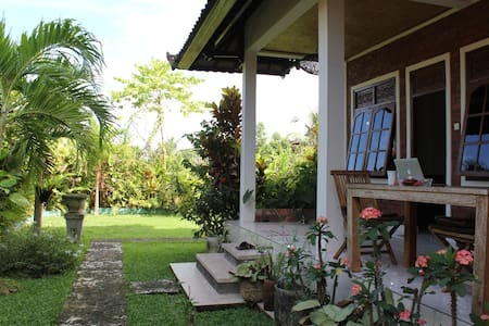 Peaceful room in central Ubud