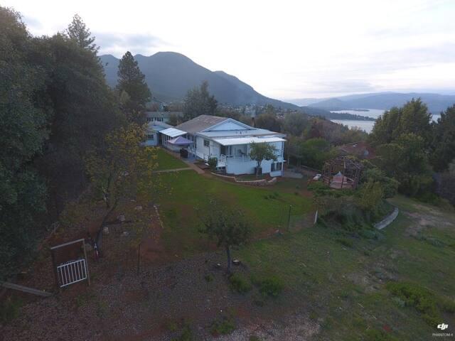 Lake view Kelseyville property