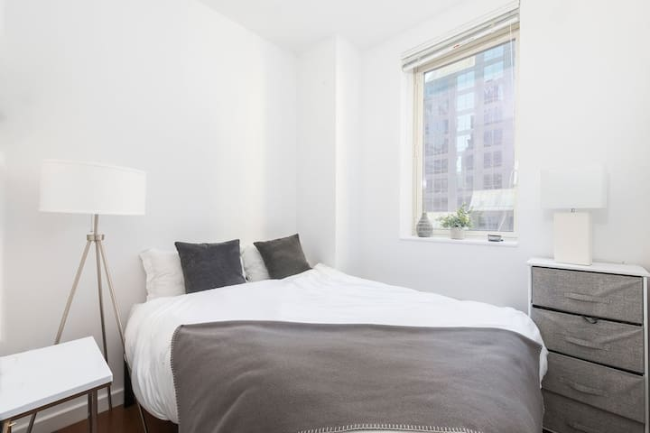 Private bedroom in luxury building