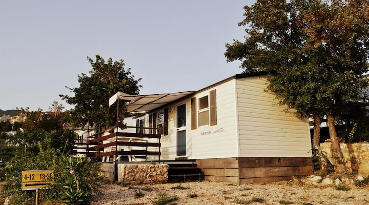 Mobile homes with the best seaview
