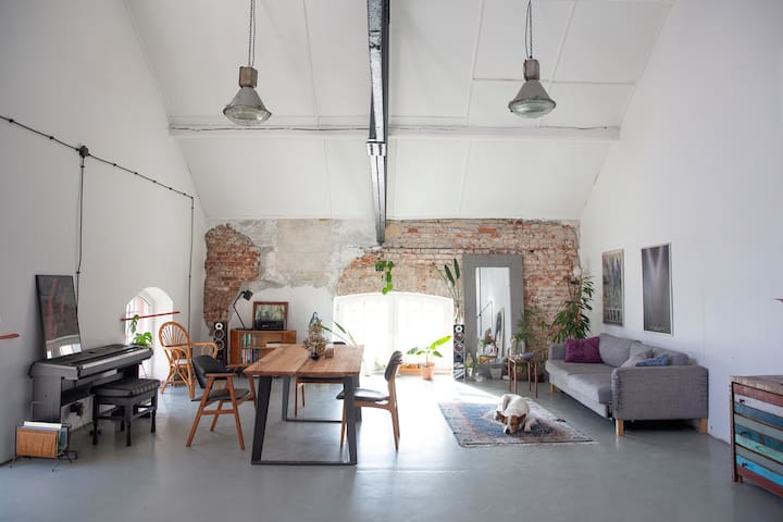 Loft for rent in Warsaw
