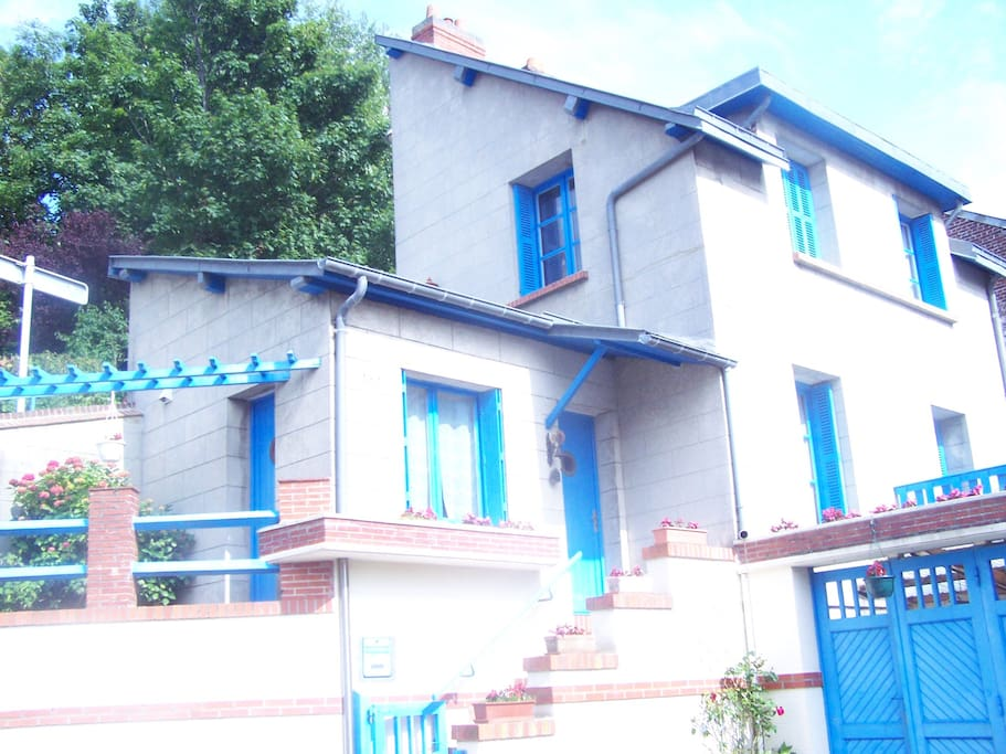 Maison de ville avec terrasse maisons louer saint - Piscine st valery en caux ...