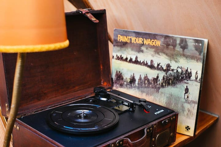 Spin some vinyl and relax!
