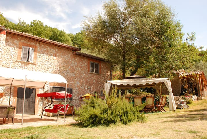 A peaceful refuge among olive trees - Monte Santa Maria - Inap sarapan