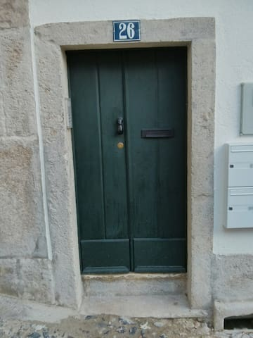 Watch you head when you go inside! This is Alfama..