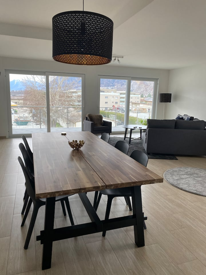 Modern apartment at the heart of Valais
