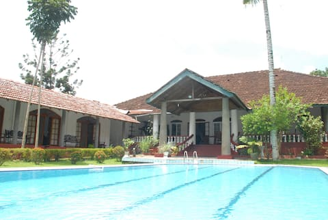 Colonial bungalow in a plantation