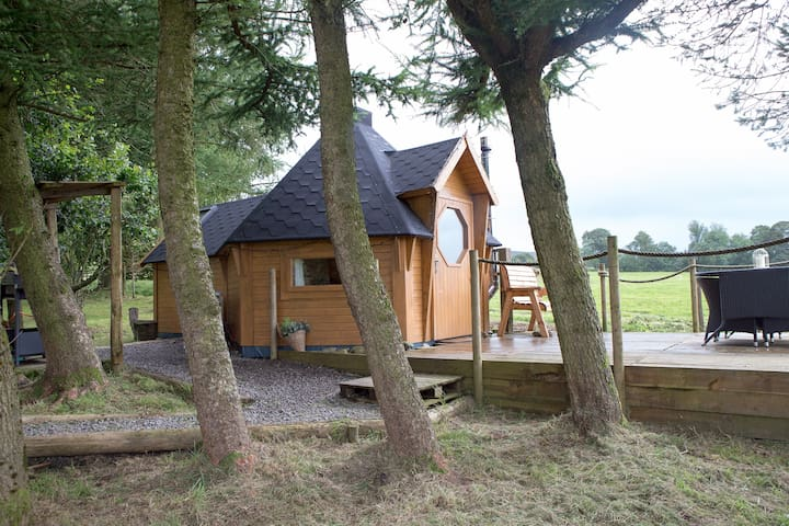 Borders Glamping - Luxury Glamping Cabin