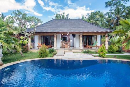 Villa Tokek Kecil - private pool, in central Ubud - 乌布德 - 独立屋
