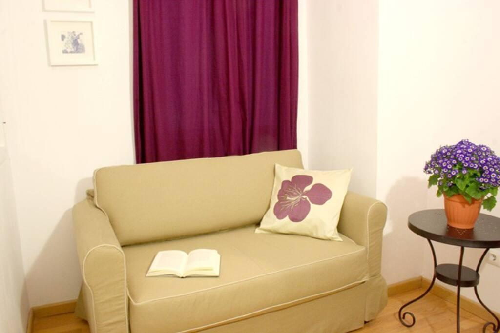 Dormitorio 2 con Sofá Cama para dos personas