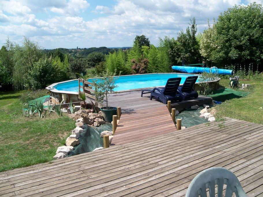Maison piscine sauna salle muscu maisons louer for Bourgogne gite avec piscine