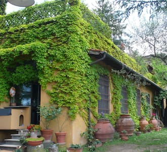 Charming lemon house in Tuscany - Florencia - Casa
