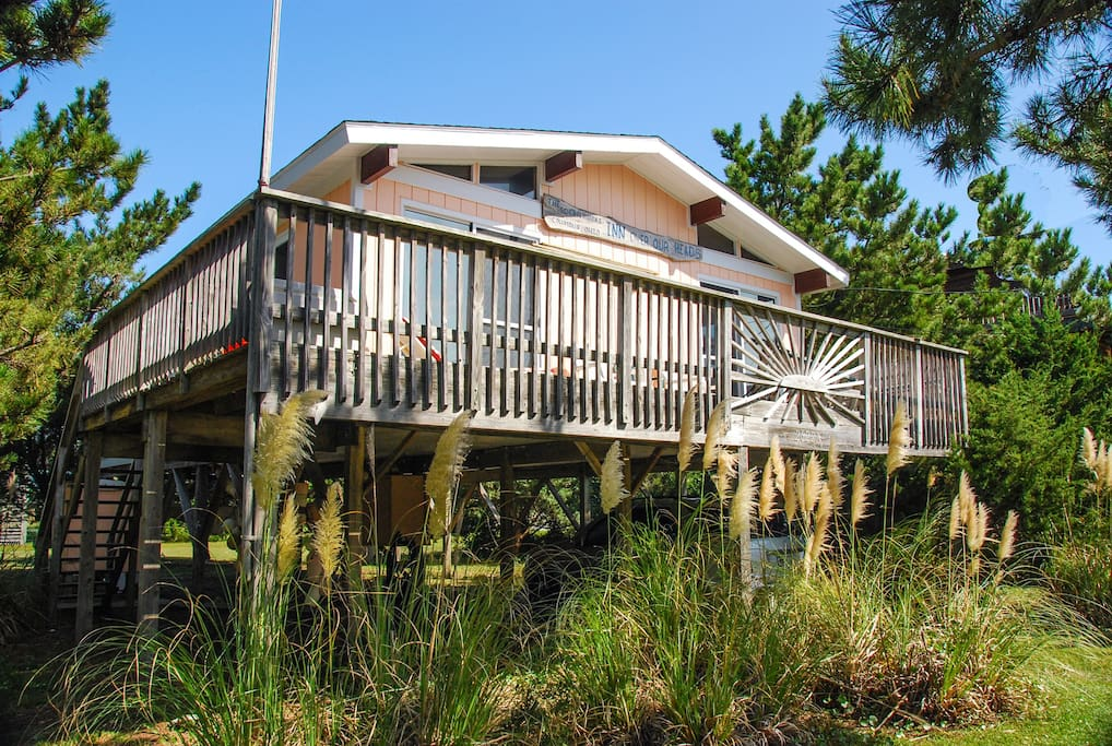 Ocean side hatteras island 3 lots back cottages for for Hatteras cabins rentals