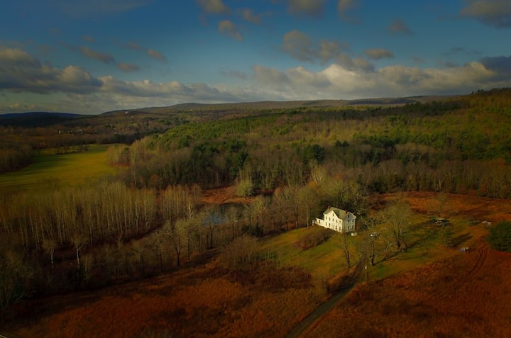 1880's Hudson Valley/Catskills Home on 100 Acres