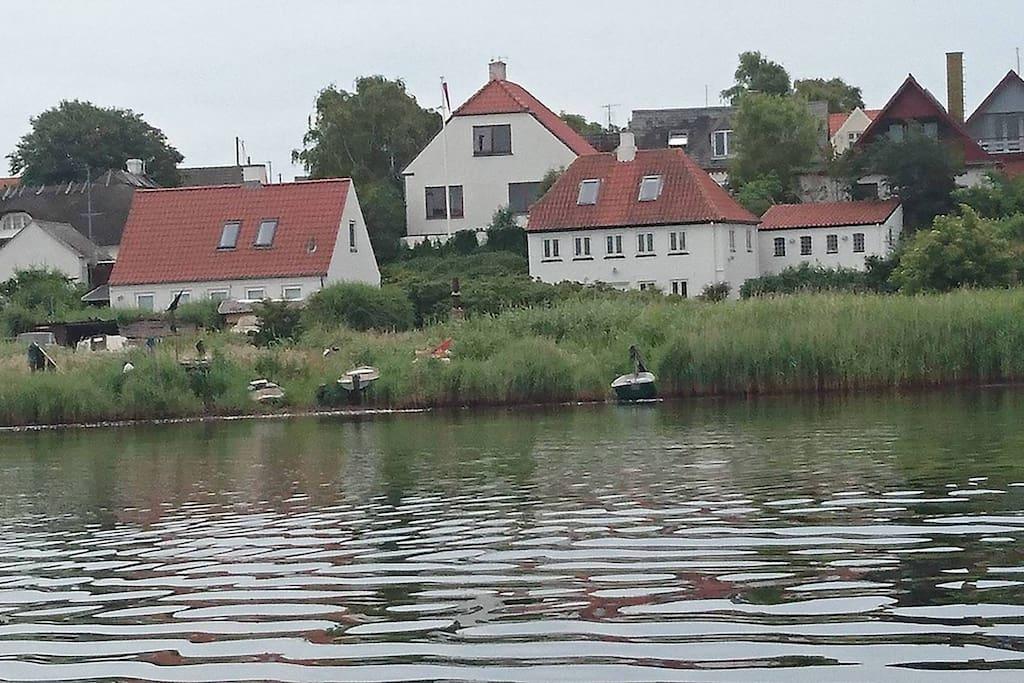 Huset i midten i det gamle Torøhuse