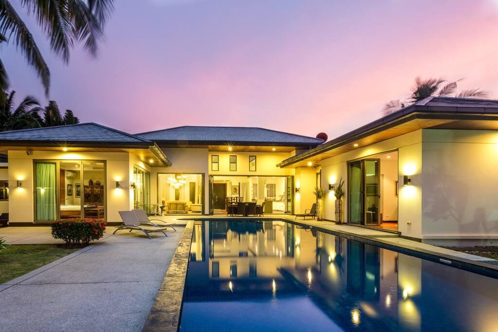 Mandala luxury villa, Phuket - pool