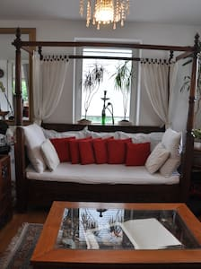 Balinese Charming & Homey House, Close to Zurich - Nussbaumen - Huis
