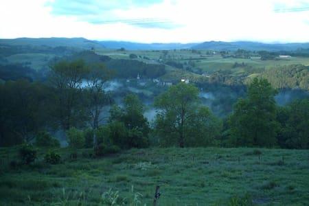 Grand gîte dans le Haut-Cantal - Marchastel - Huoneisto