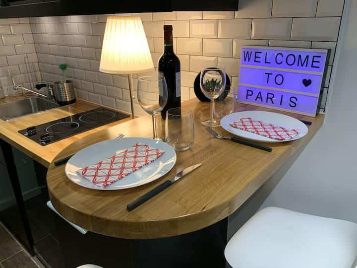 Studio moderne aux porte de Paris