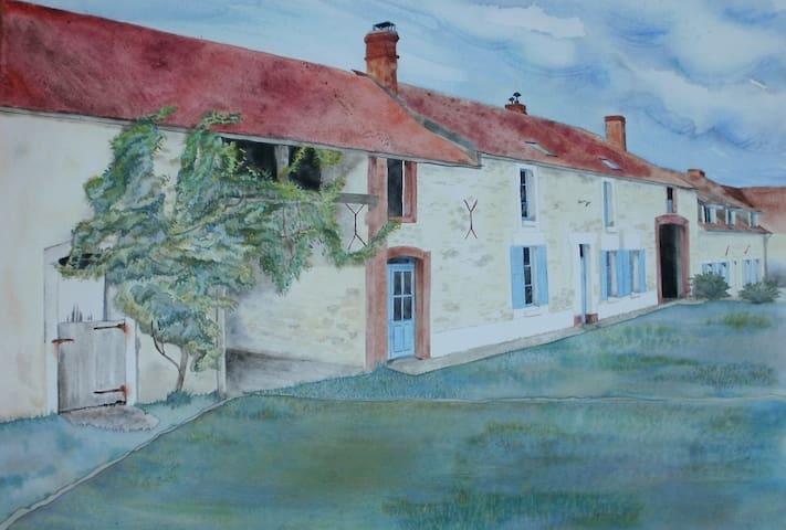 Chambres d'hôtes Le Taraut - Charbuy - ที่พักพร้อมอาหารเช้า