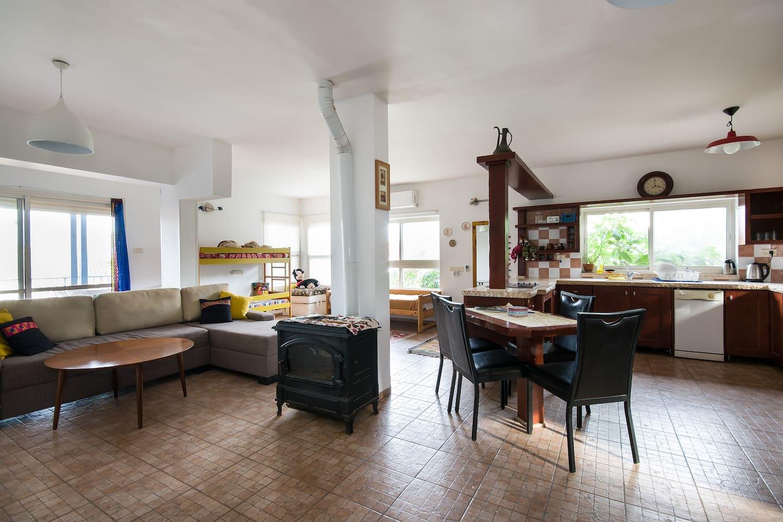 Common area , Living room , kitchen