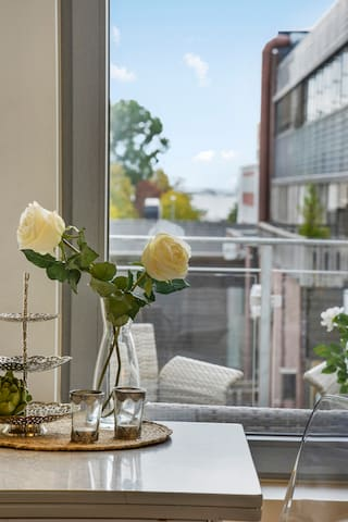 Modern downtown apartment in Sandefjord - Sandefjord - Apartament