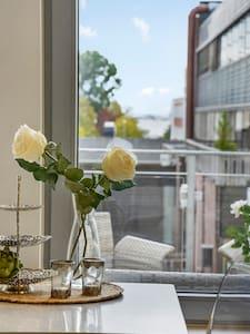 Modern downtown apartment in Sandefjord - Sandefjord - Pis