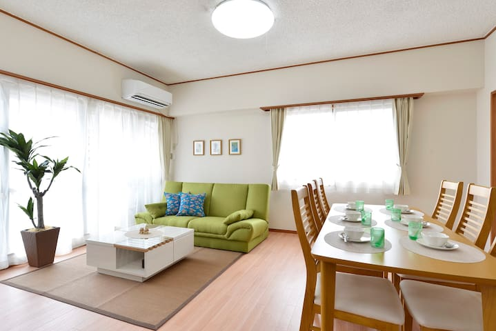 #4F apartment for 9 people in Naha - Naha-shi - アパート