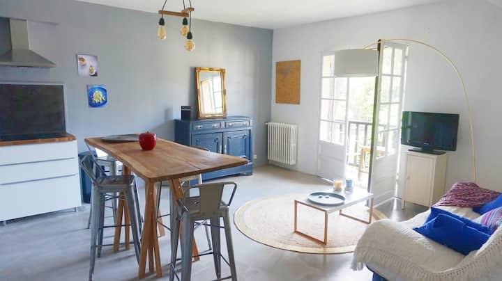 La Baule Les Pins : F2 (45 m²) calme et central