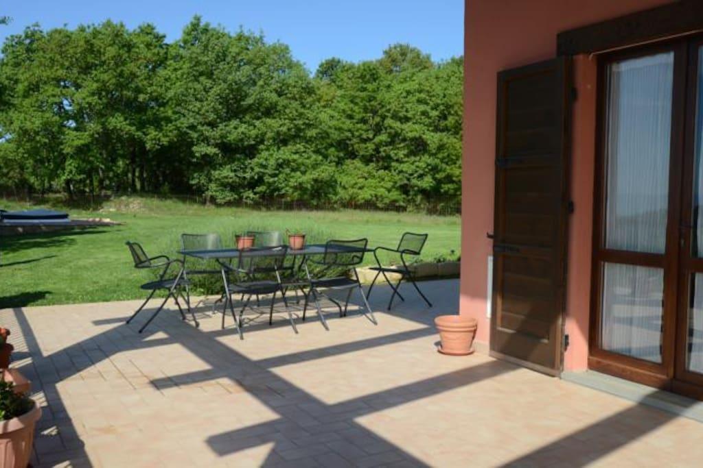 Romantica camera matrimoniale 3 case in affitto a monteverde umbria italia - Camera matrimoniale romantica ...