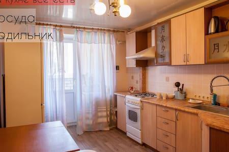 Уютная квартира в новом доме у метро! - Samara