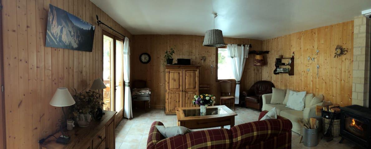 """Chambre """"Les Marmottes"""" dans maison du Queyras - Arvieux - Dům"""