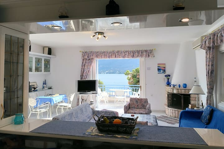 Rigos house at Askeli beach, Poros island.